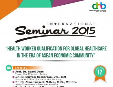 INTERNATIONAL SEMINAR 2015